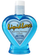 Liquid Love Warming Massage Lotion Blue...